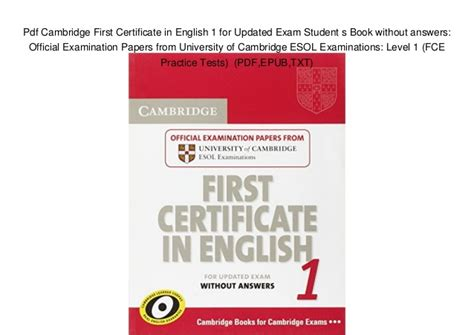 Cambridge first certificate in english 3 cd download tyus true cambridge first certificate in english 3 cd download jpg 638x451 yelopaper Gallery