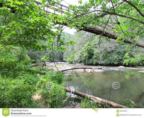 benton mckaye swinging bridge jpg 1300x1065