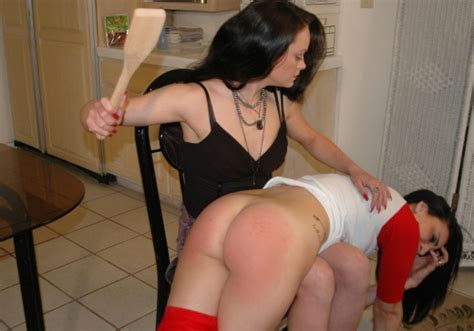 Spanked with wooden spoon jpg 520x364