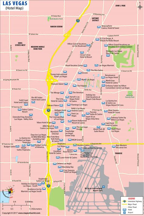 Las vegas hotels, shows, things to do, restaurants maps jpg 800x1202
